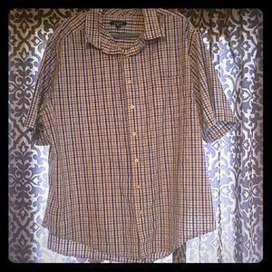 ⚘3/$15⚘ Men's Button Down Shirt-short sleeve
